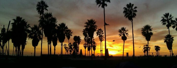 Venice Beach is one of LA List.