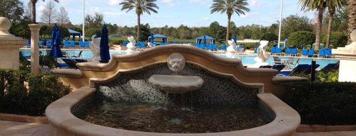 The Ritz-Carlton Orlando, Grande Lakes is one of Places Tony Stark would hang out in Central FL.