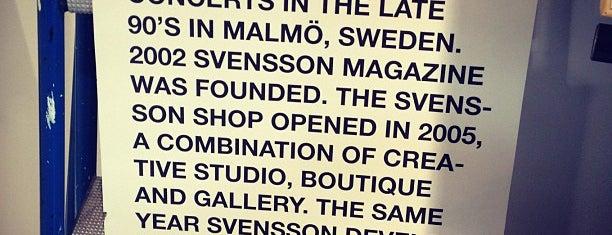 Svensson is one of SuperfantasticJANplaces*europe.