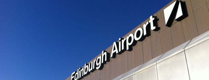 Edinburgh Airport (EDI) is one of Tempat yang Disukai Mark.