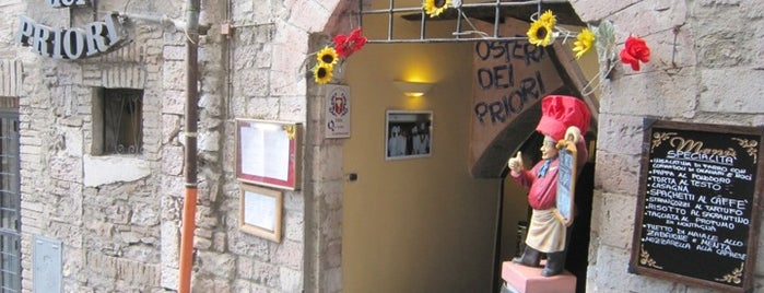 Osteria dei Priori is one of  Assisi .