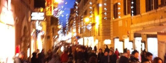 Via Frattina is one of Rome.