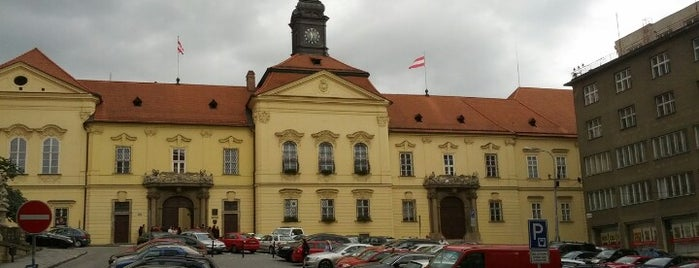 Dominikánské náměstí is one of Brno.