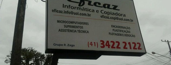 Eficaz Informática is one of Tempat yang Disukai Henrique.