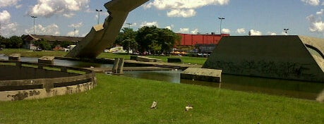 Monumento a Cabanagem is one of Oscar Niemeyer [1907-2012].