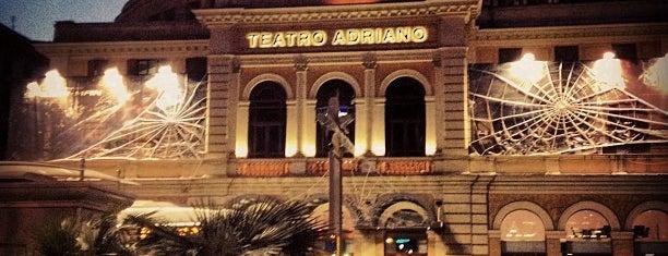 Cinema Adriano is one of Orte, die Roberta gefallen.