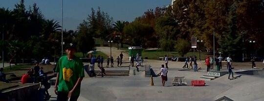 Skatepark Parque de Los Reyes is one of Santiago Centro 2.
