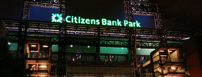Citizens Bank Park is one of MLB Ballparks Tour.