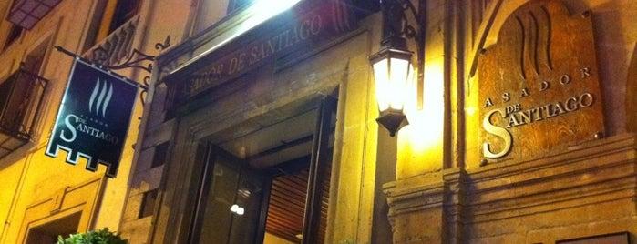 El Asador De Santiago is one of 41 Restaurantes de España que no te puedes perder.