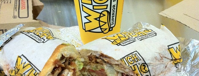 Which Wich? Superior Sandwiches is one of Andrew 님이 좋아한 장소.