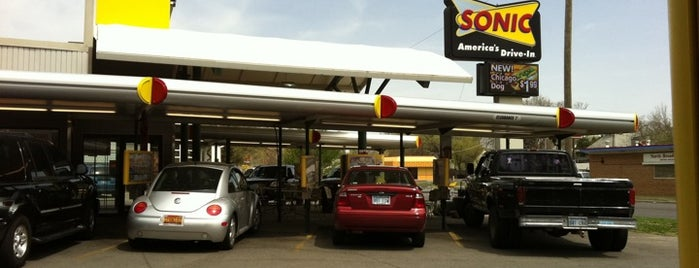 SONIC Drive In is one of Restaurants I Want To Try.