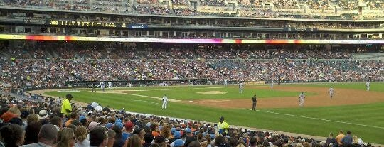 Comerica Park is one of Places that are checked off my Bucket List!.