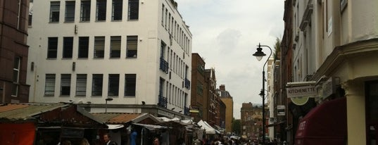 Leather Lane Market is one of London must eat and drink.