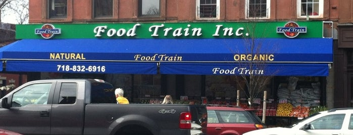 Food Train Market is one of Nyc with kids.