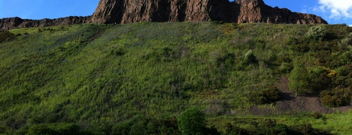 Holyrood Park is one of Scotland.