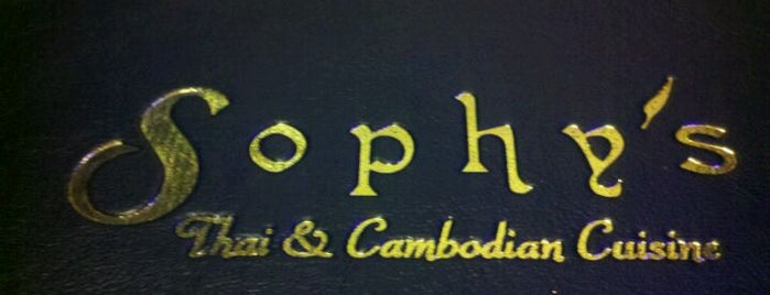 Sophy's Fine Thai & Cambodian Restaurant is one of Southern California Foodie Adventure.