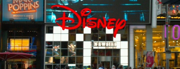 Disney store is one of NYC.