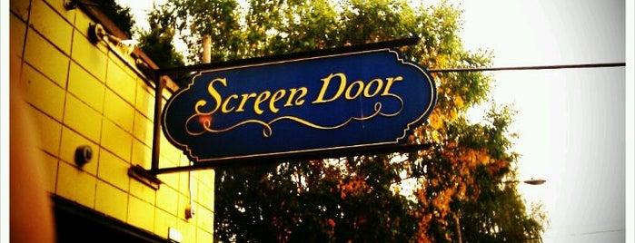 Screen Door is one of Best of Portland by Bike.
