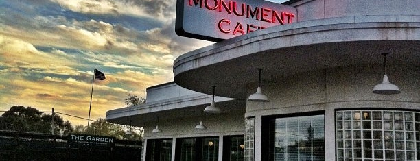 The Monument Café is one of Austin.