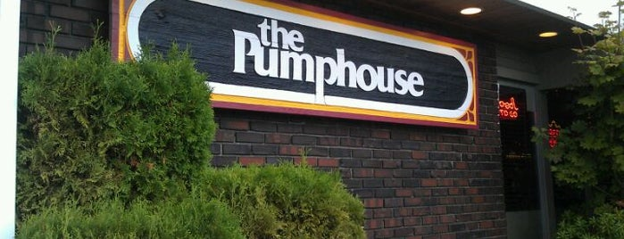 THE PUMPHOUSE BAR & GRILL is one of Washington.