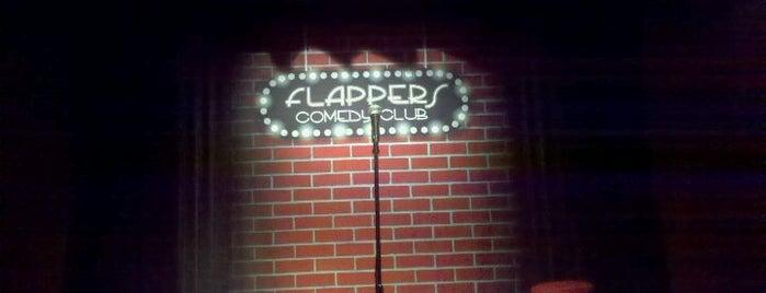 Flappers Comedy Club is one of Orte, die Rebekah gefallen.