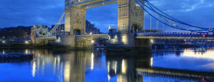 Tower Bridge is one of Places to Visit in London.