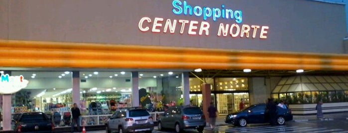 Shopping Center Norte is one of Cristina Portilho.