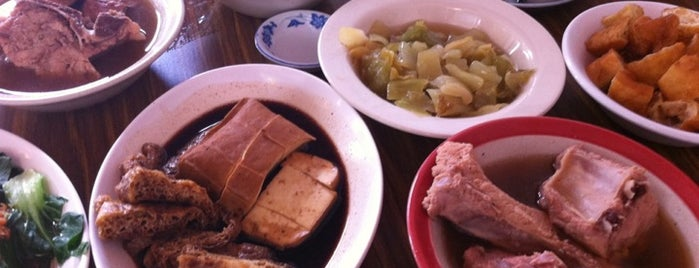 Ng Ah Sio Pork Ribs Soup Eating House is one of Singapore.