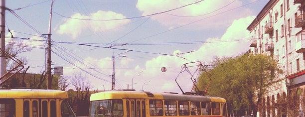 Кольцо трамвая 1,2,4,10 is one of Top 50 venues in Volgograd.
