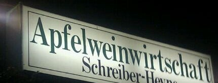 Schreiber-Heyne is one of Ebbelwoi.