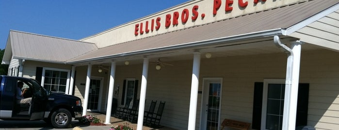 Ellis Bros. Pecans & Peanuts is one of Places to Eat.