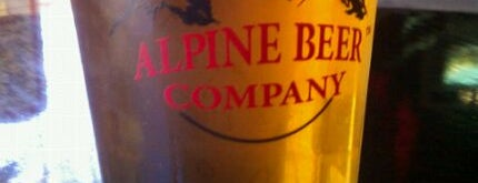 Alpine Beer Company is one of Best US Breweries--Brewery Bucket List.