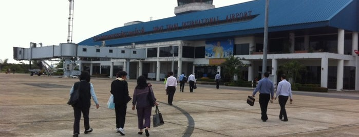 Aeroporto de Surat Thani (URT) is one of Asia - done / to do.