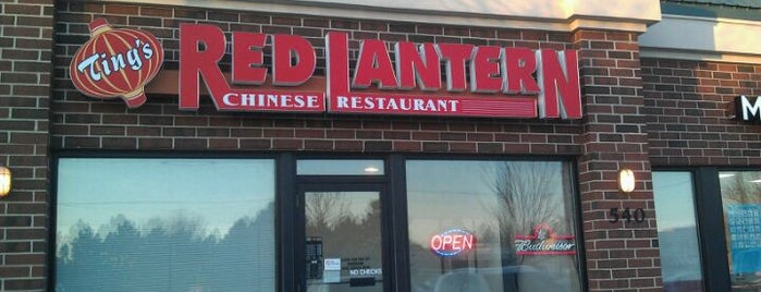 Ting's Red Lantern is one of Cedar Rapids.