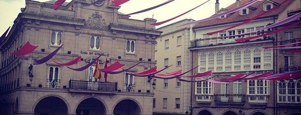 Concello de Ourense is one of Lugares guardados de La Estación de Loman.
