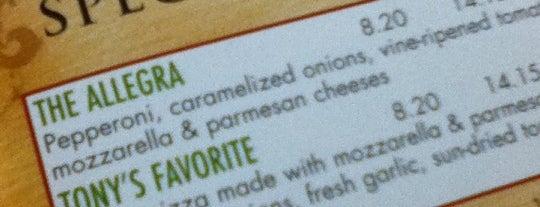 Allegra's Pizza is one of Lieux sauvegardés par Danielle.