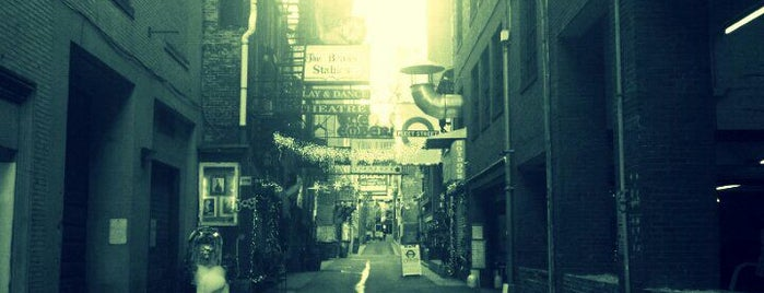 Printer's Alley is one of Nashville.