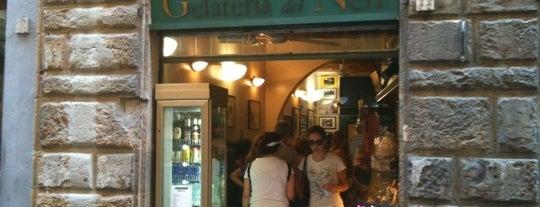 Gelateria dei Neri is one of 101 posti da vedere a Firenze prima di morire.