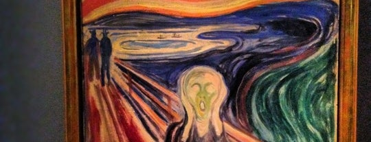 Munch-Museum is one of Was.