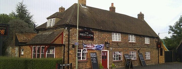 Red Lion is one of Lugares favoritos de Carl.