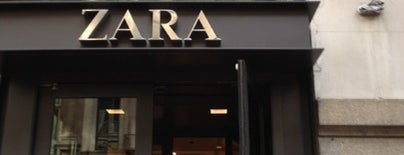 Zara is one of Places to go when in New York.