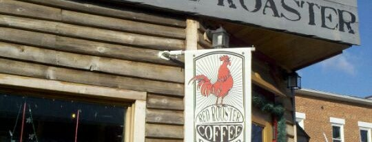 Red Rooster Coffee Roasters is one of Posti salvati di Rachel.