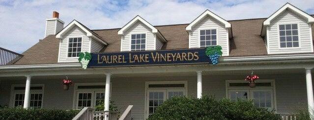 Laurel Lake Vineyards is one of North Fork Wine Trail.