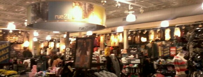 rue21 is one of CeCe's Places.