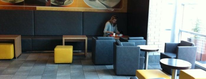 McDonald's is one of Lieux qui ont plu à Rita.
