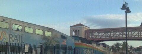 Tri-Rail - Mangonia Park Station is one of Locais curtidos por Del.