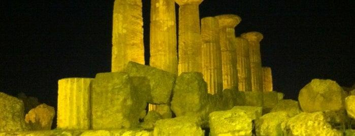Tempio Di Ercole is one of Grand Tour de Sicilia.