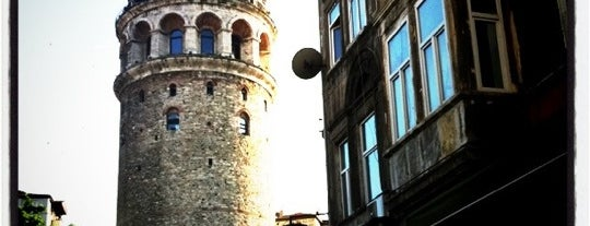 Menara Galata is one of Istanbul Tourist Attractions by GB.