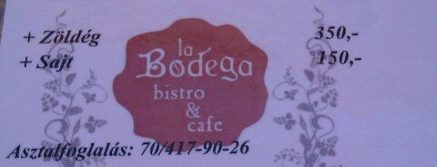 La Bodega is one of Andrea 님이 저장한 장소.