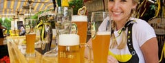 The Biergarten at The Standard, Downtown LA is one of Vanity Fair Agenda's Social L.A..